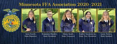 Minnesota 2020/21 FFA Officer Team