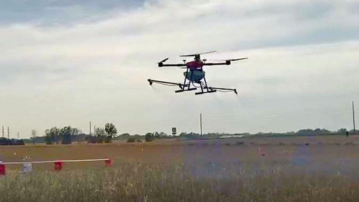 Research with drones