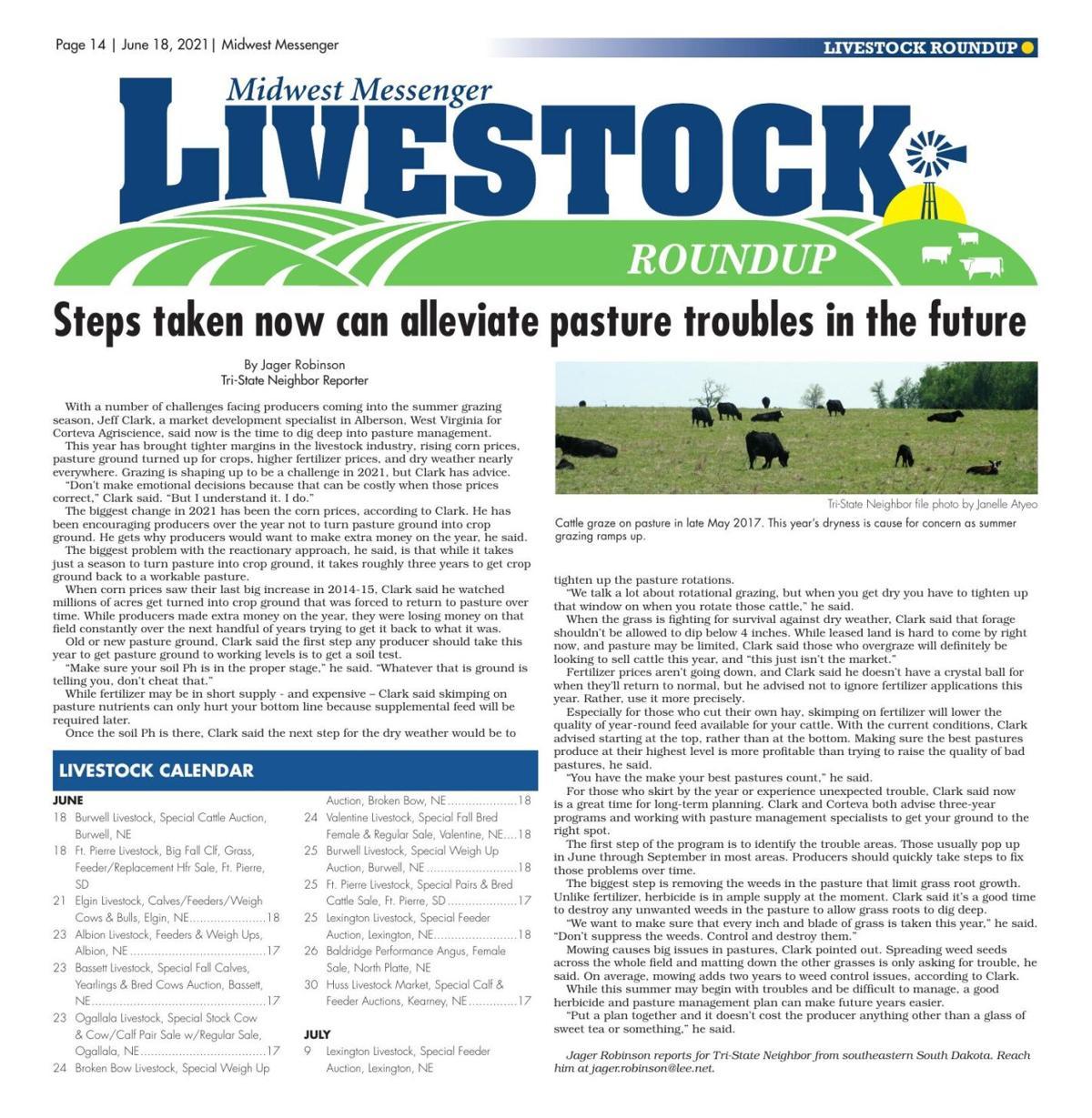 Livestock Roundup 6-18-21
