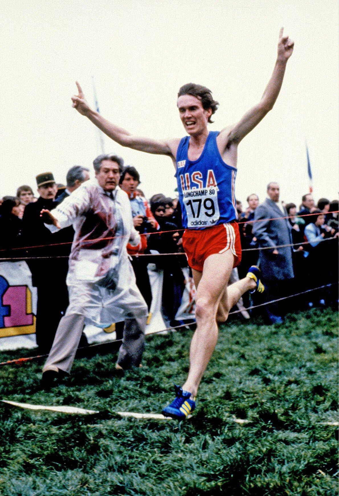 Craig Virgin running