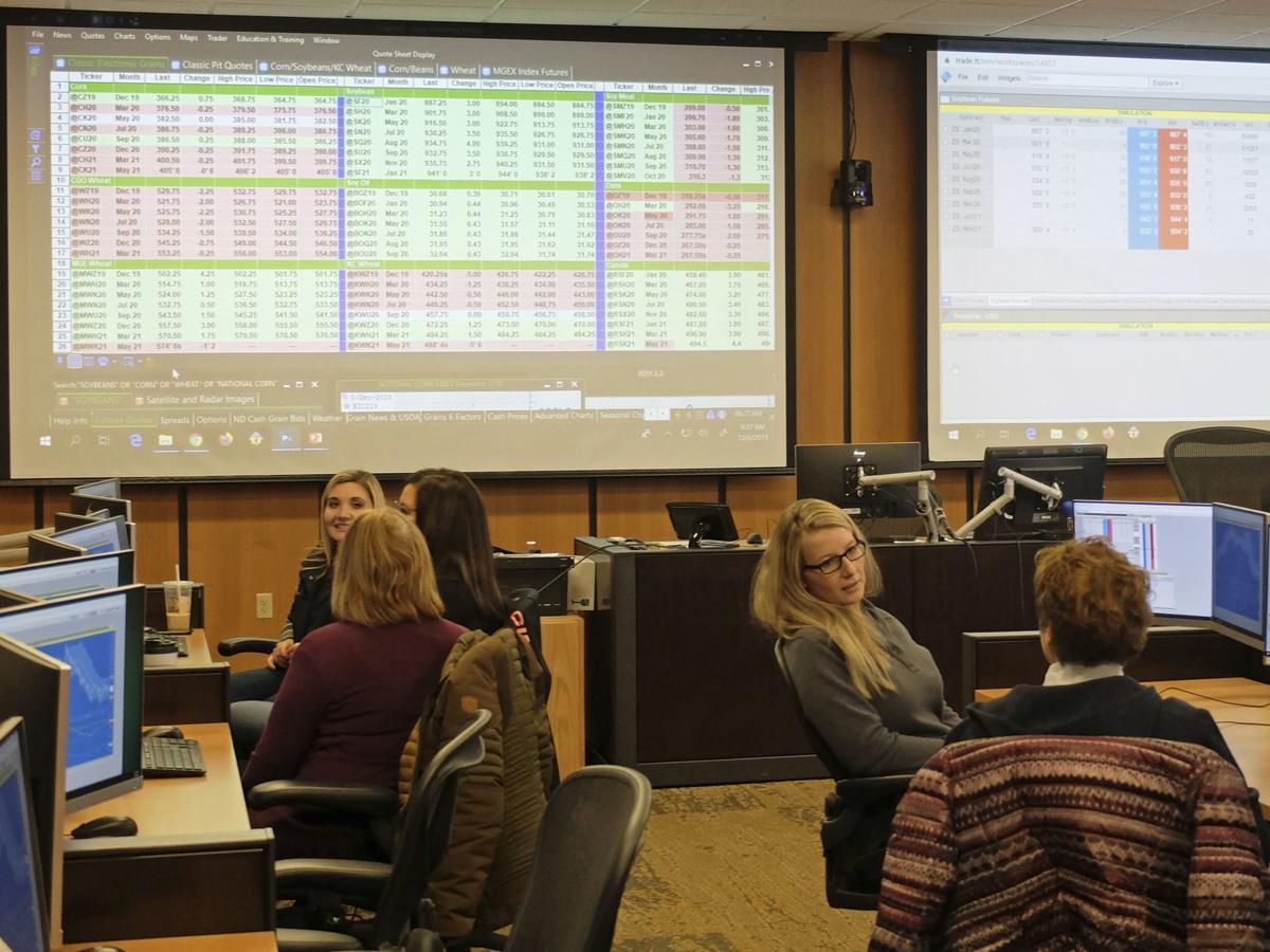 Women learn ag trading
