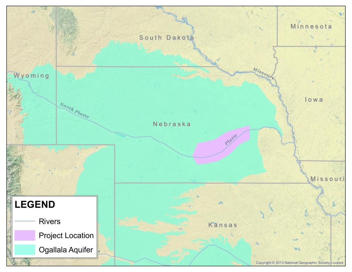 Map of the Ogallala Aquifer | | agupdate.com