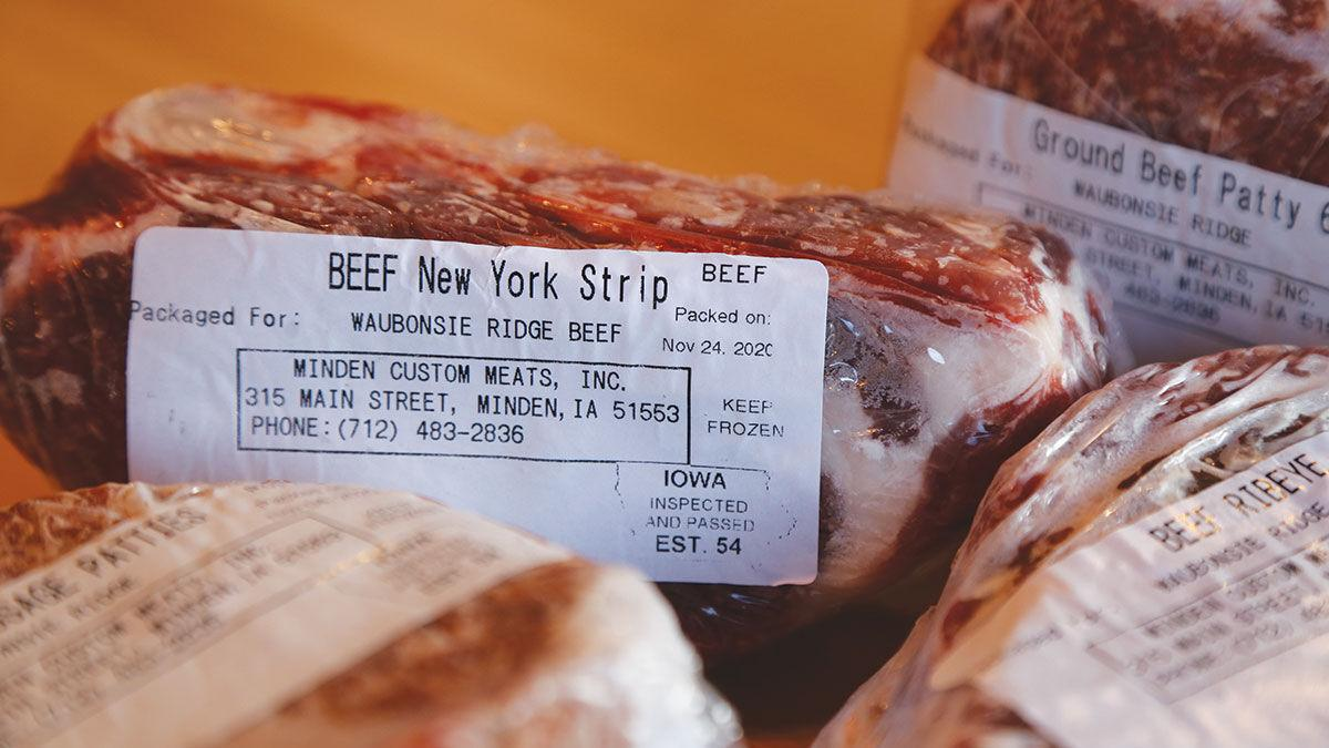 freezer beef Minden Meat