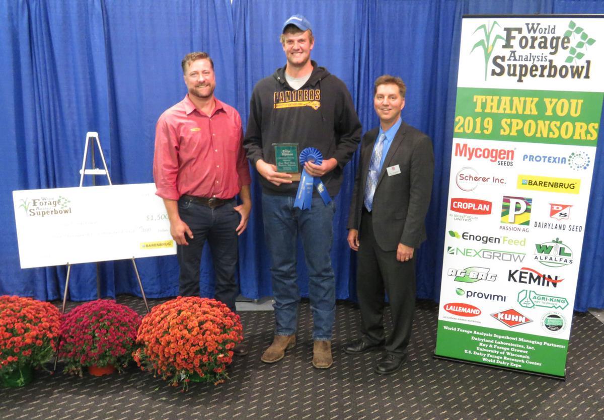 Dan Gerrits, 2019 champion grass-hay winner