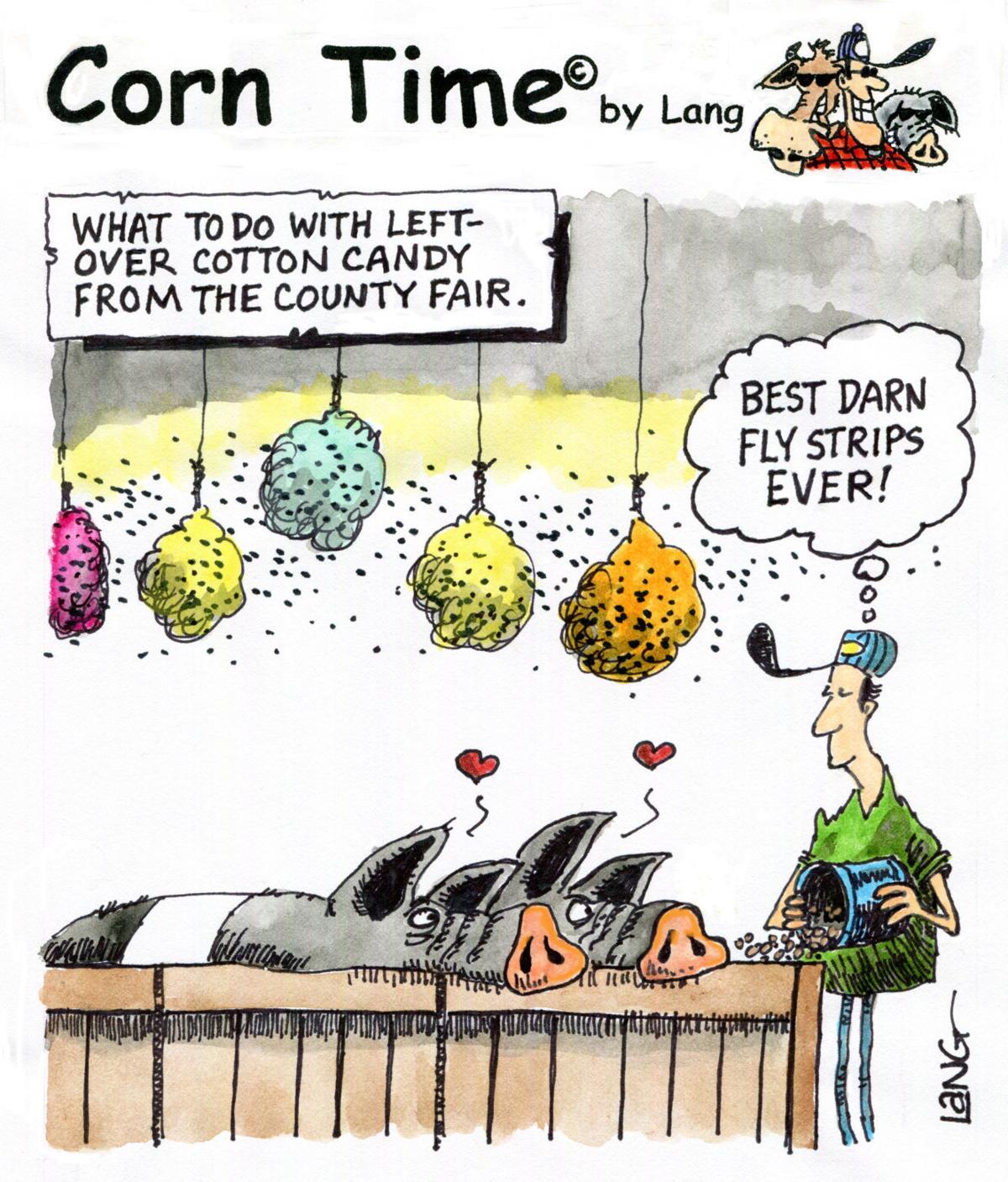 Corn Time by Bob Lang
