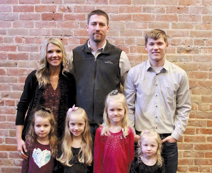 McManis with five children
