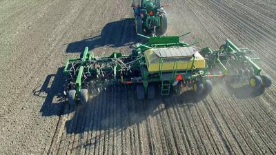 Planting wheat 12/01/18