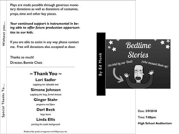 Bedtime Stories program