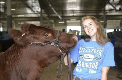 With her heart set on cattle, Nebraska teen excels in the show ring