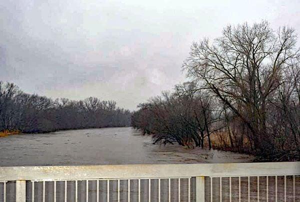 Big Blue River flooding