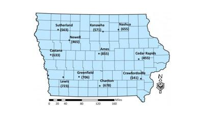 corn rootworm egg hatch map