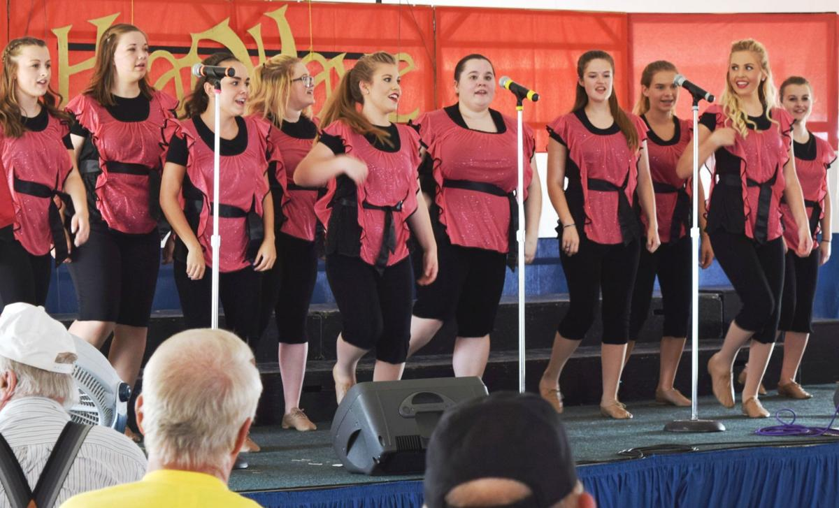 Heat Wave Show Choir at Walworth County Farm Technology Days