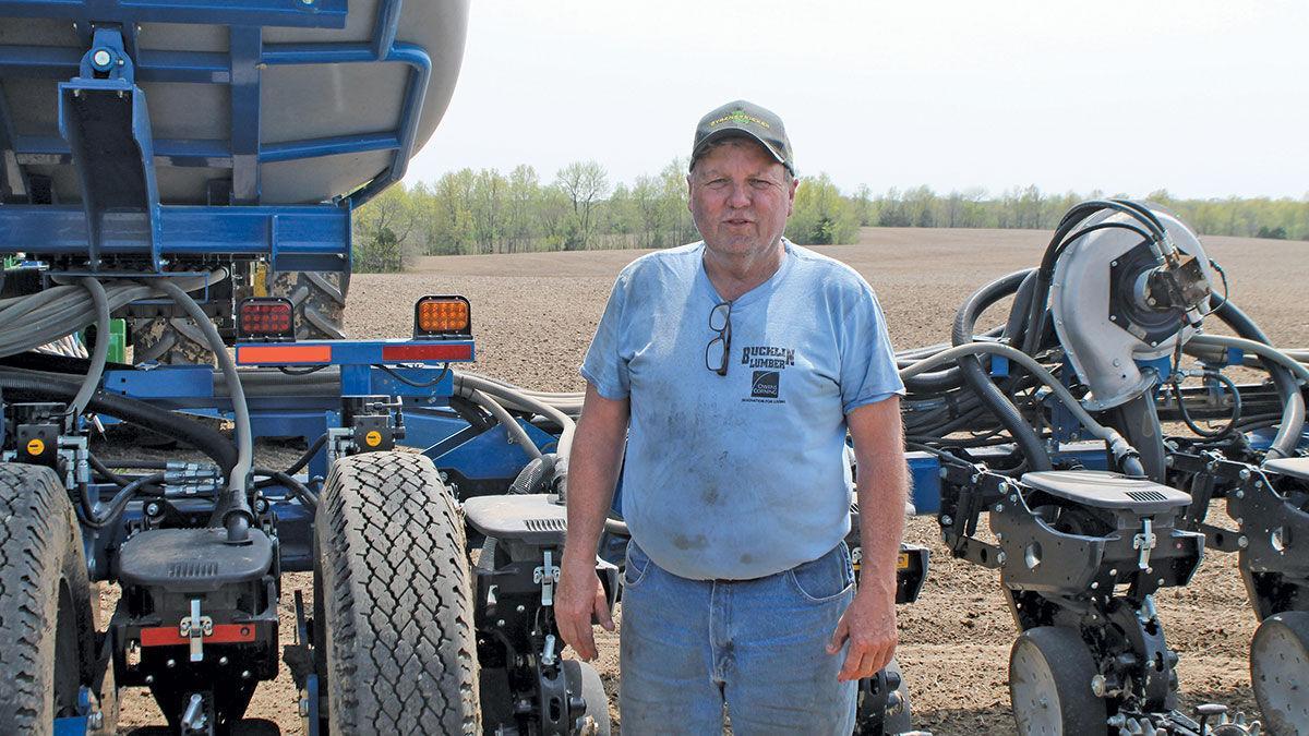 Chariton County farmer Bruce Buck
