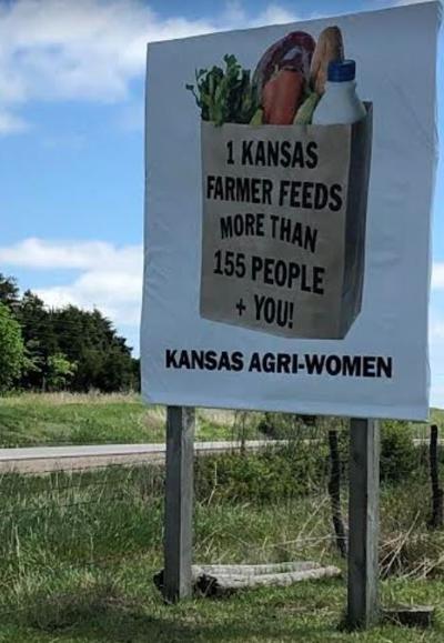 Kansas road signs