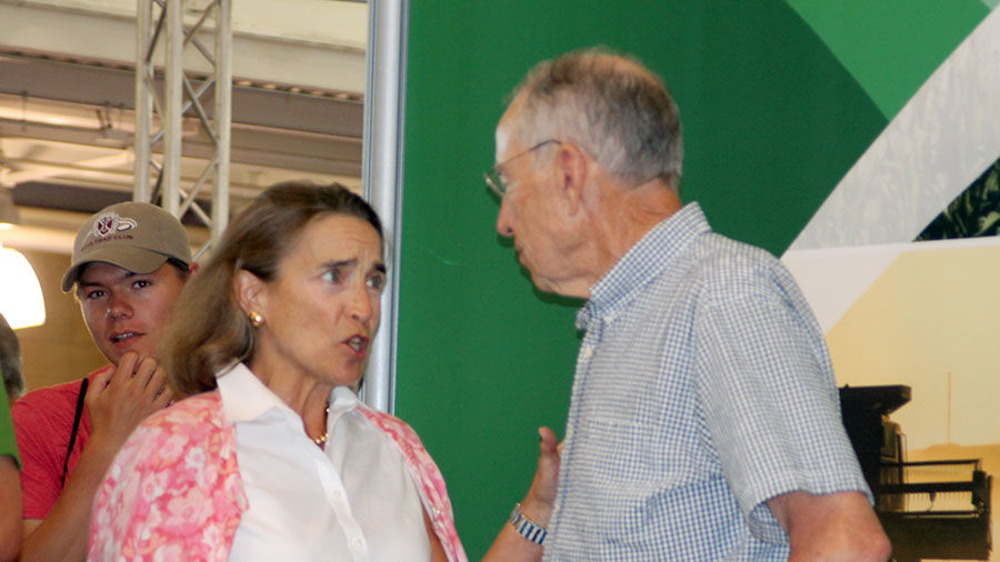 Chuck Grassley and Blanche Lincoln