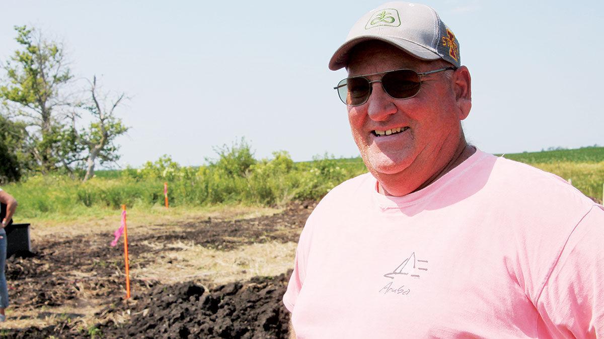 Kurt Lehman farms near Alleman, Iowa