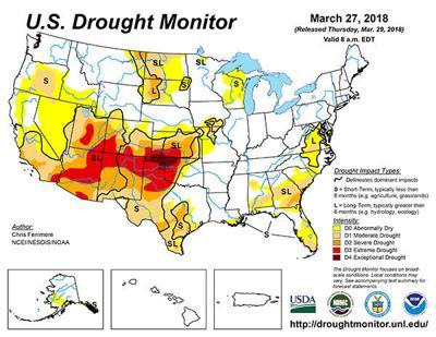 Southern Kansas, Colorado drought condition intensifies | Crop ...