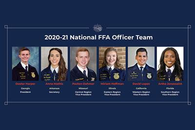 FFA National Officer Team 2020-21