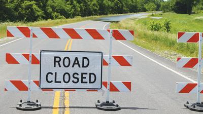 Road closed Missouri