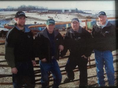 Jeremy, Wayne, Keith and Chris Johnson