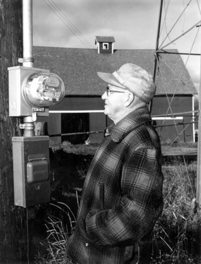 Electric meter 1954