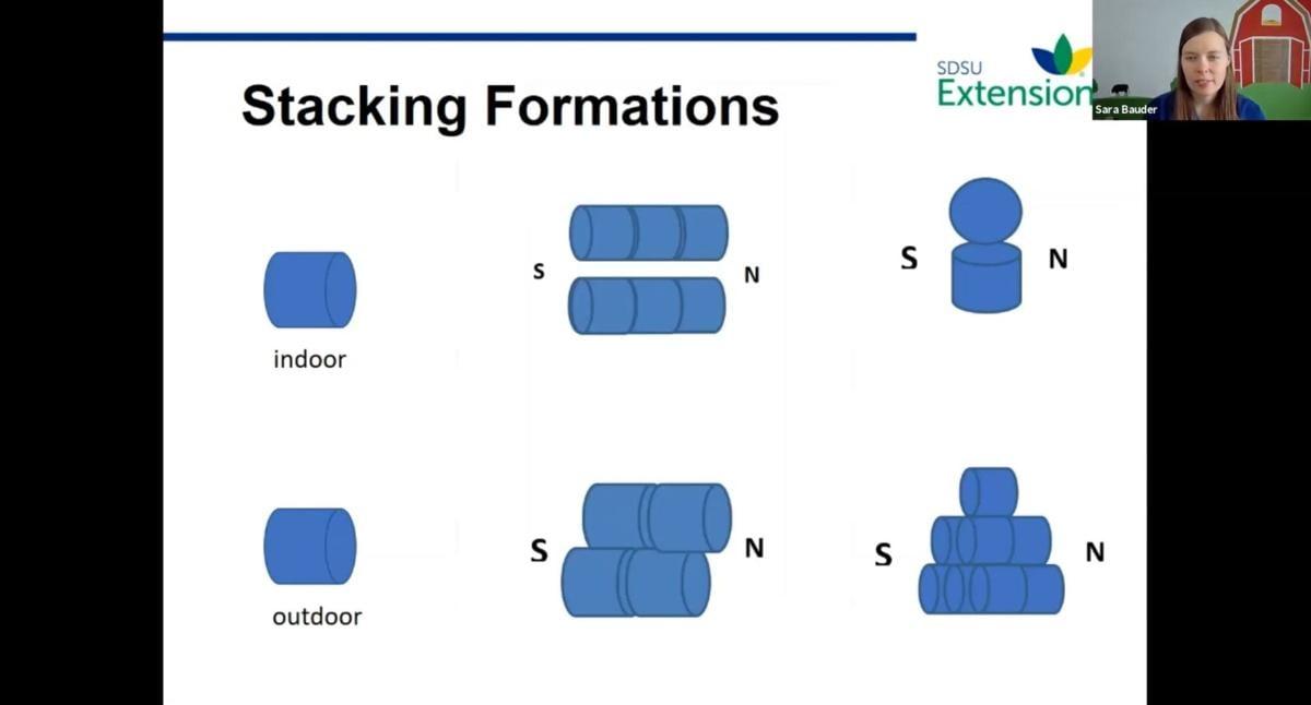 Bale storage configurations