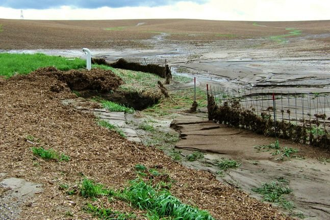 Soil erosion from water