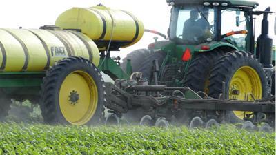 N fertilizer application
