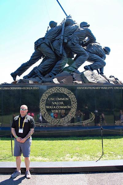 U.S. Marine Corps War Memorial May 2019
