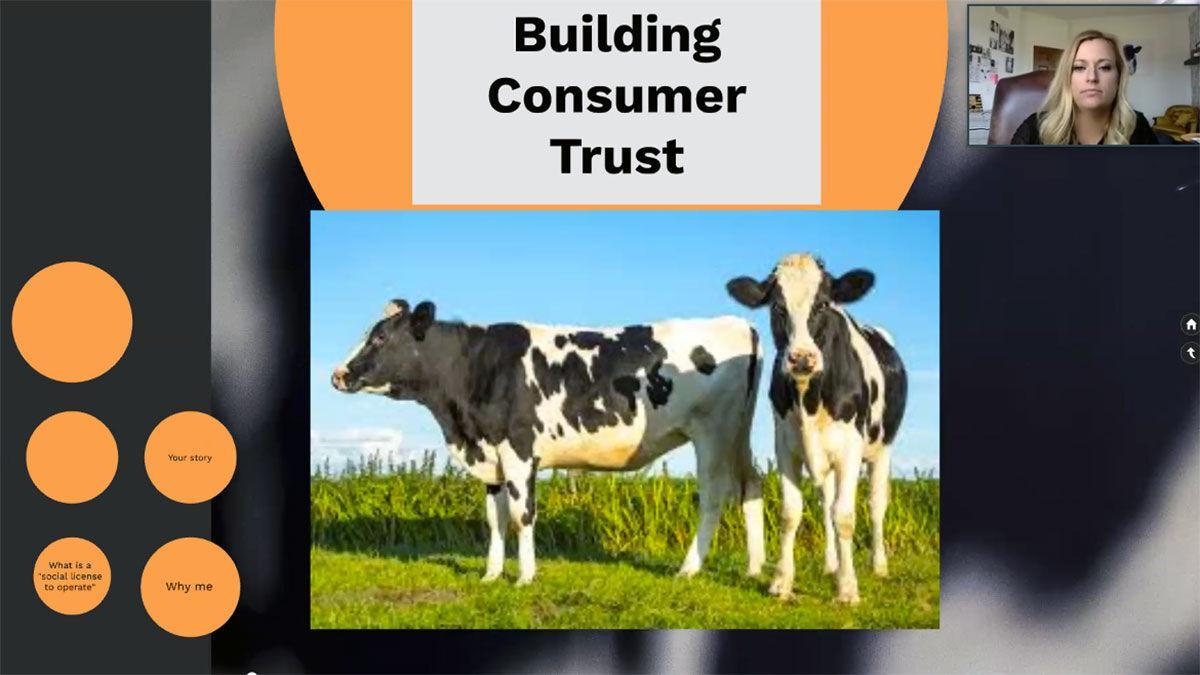 Dairy Calf & Heifer Association webinar screenshot