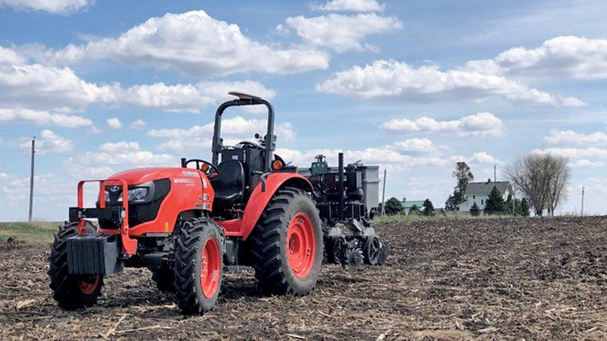 Sabanto autonomous tractor