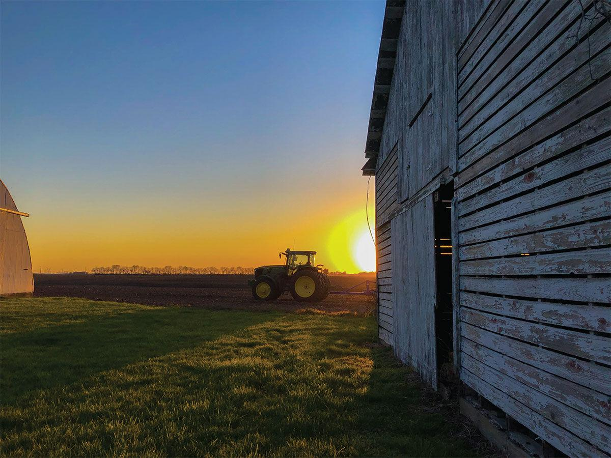 """Working Dawn Till Dusk,"" Drew Mickey, of Taylorville"