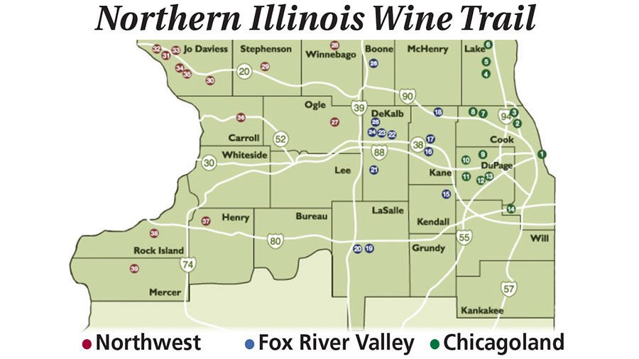 Wine Trail Offers A Taste Of Illinois Ag Traditions Crop