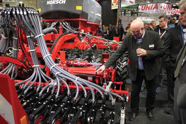 Horsch Agritechnica show