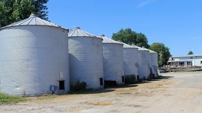 FJ Krob and Company in Ely, Iowa Bins