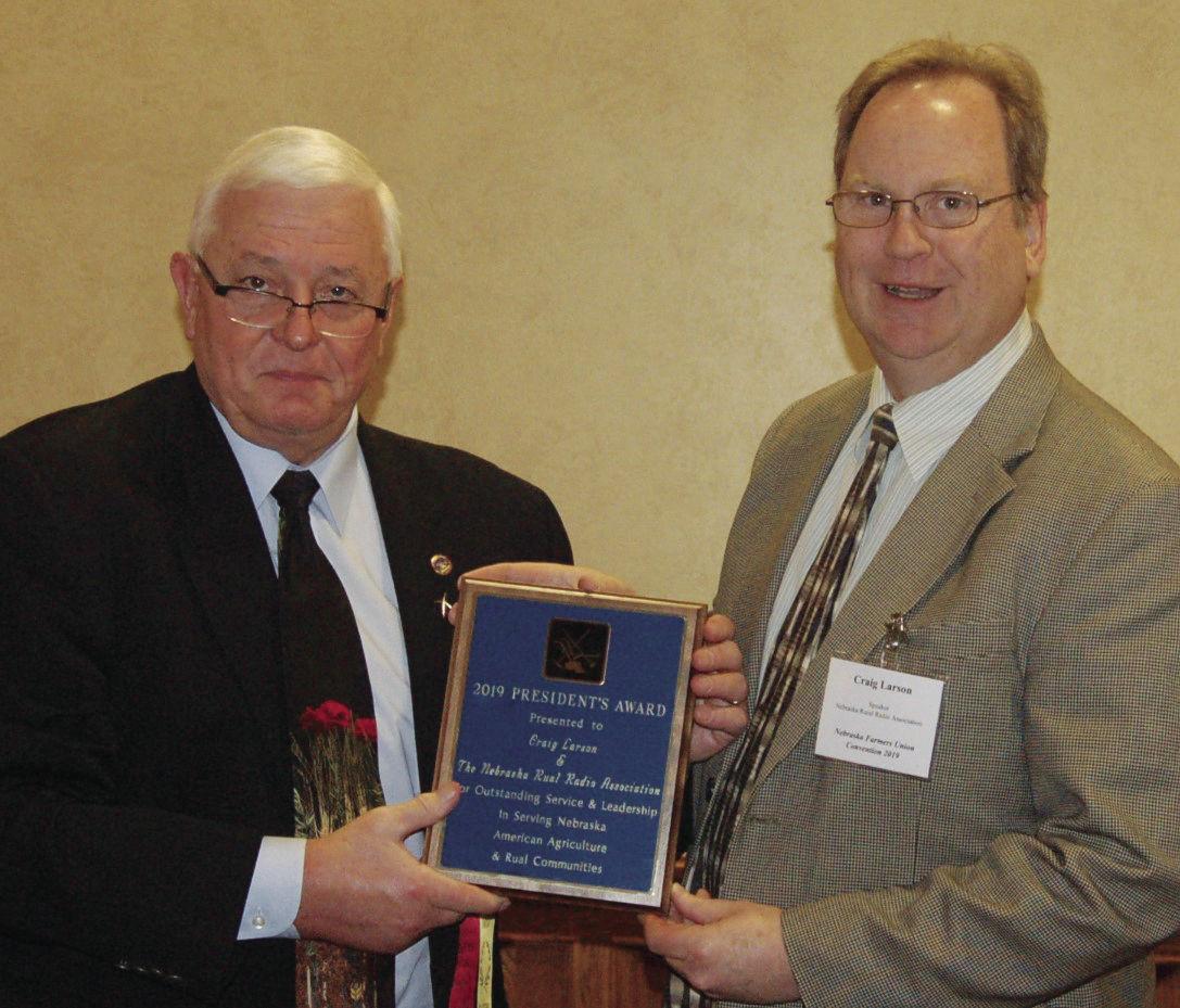 Nebraska Farmers Union President John Hansen