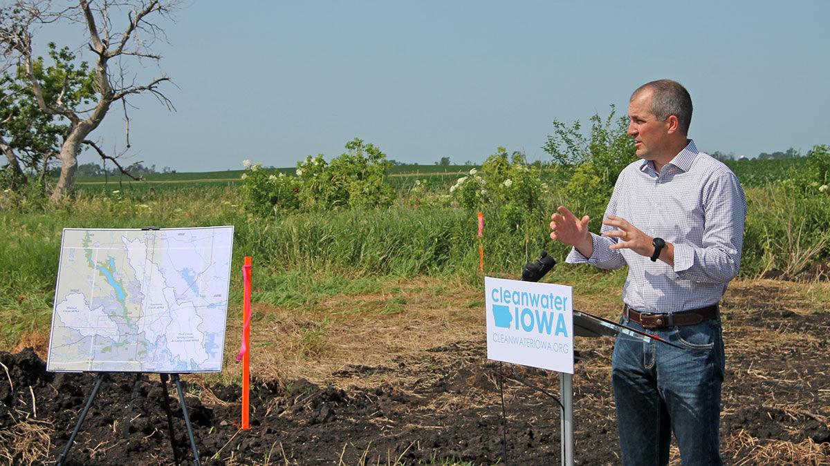 Iowa Secretary of Agriculture Mike Nai