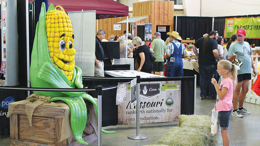Mo Corn at State Fair