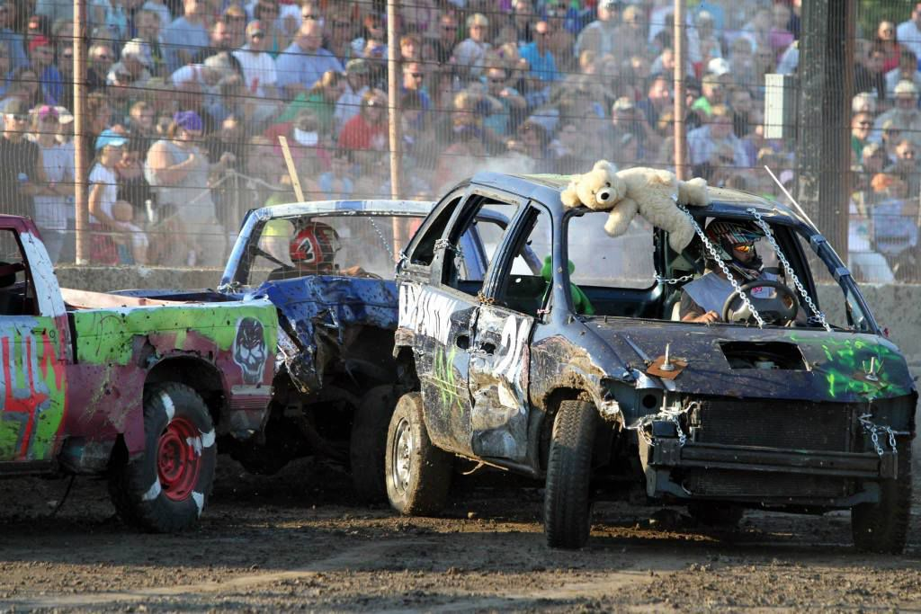 Demolition Derby -- Dodge County Fair