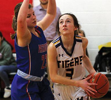 Tigers girls finish in top half of EHC tourney field