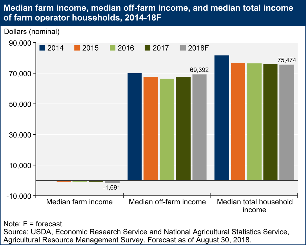 USDA ERS median farm income 083018