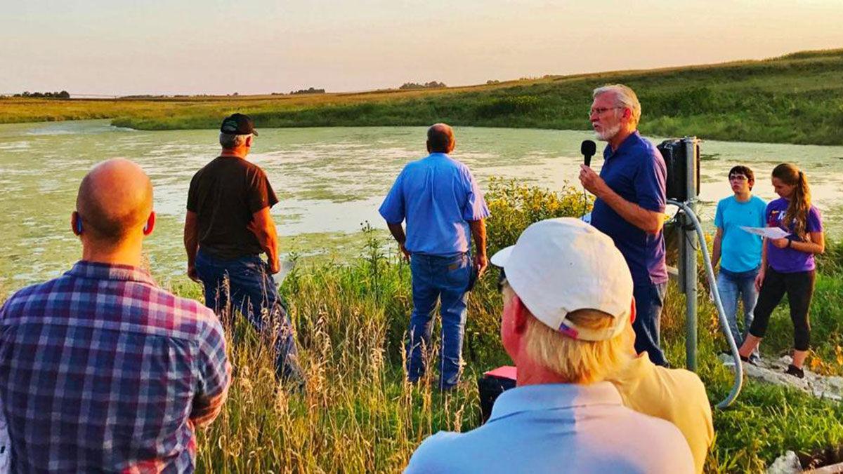 ISU wetlands study