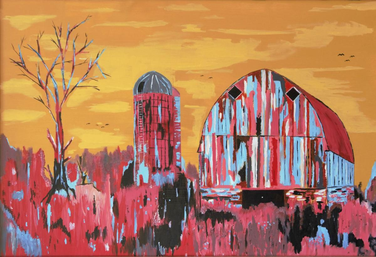 Old-barn painting