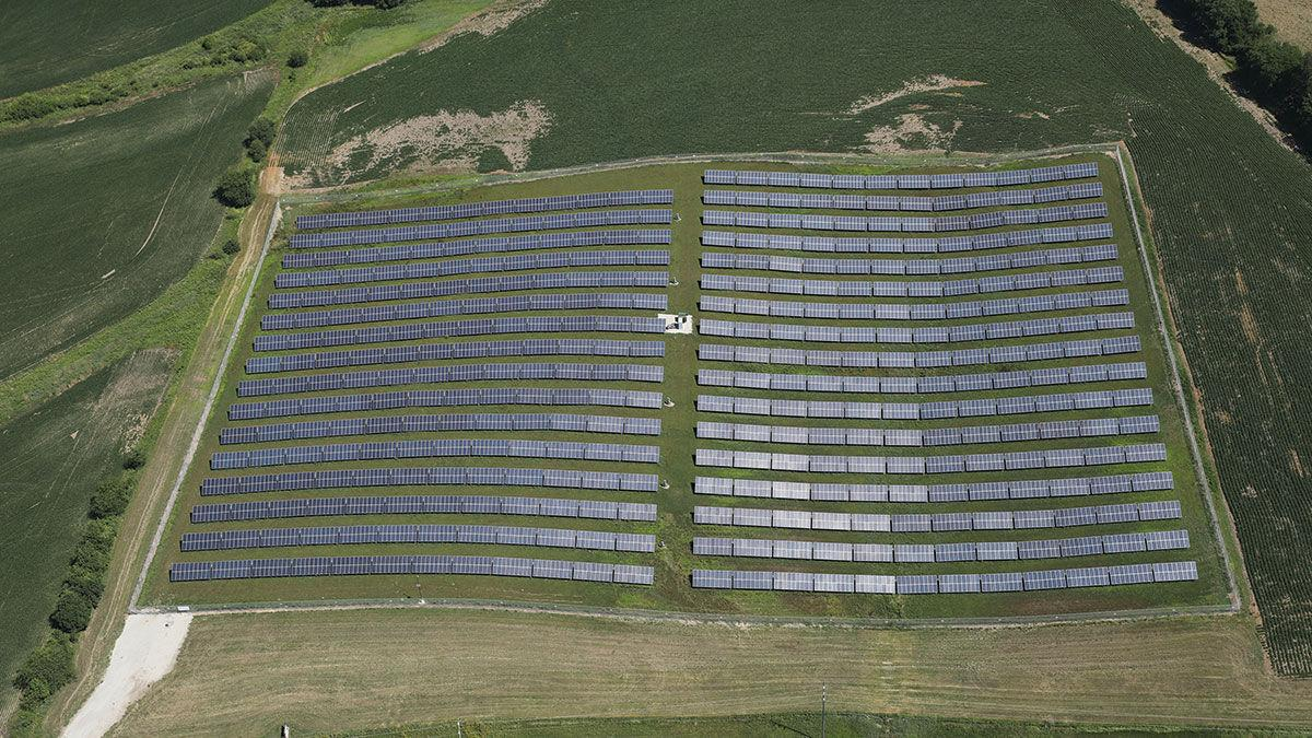 solar farm in Adams County