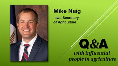 Q & A Mike Naig