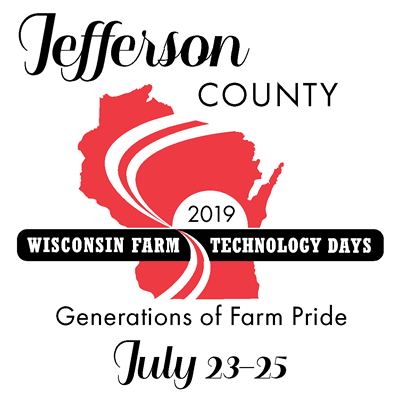 Wisconsin Farm Technology Days Jefferson County 2019 logo
