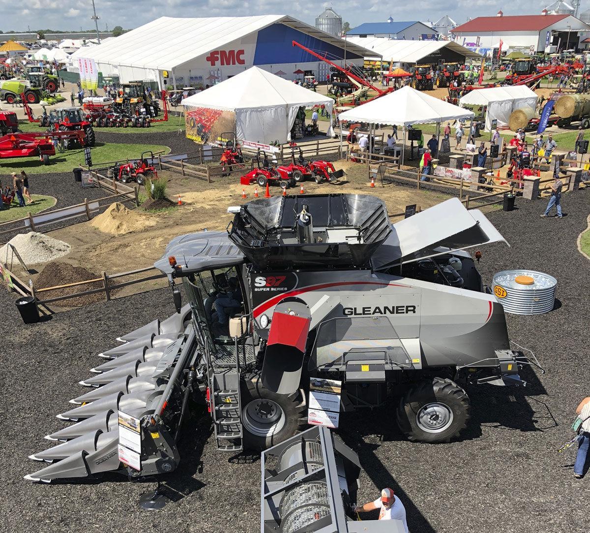 2018 Farm Progress Show overhead view