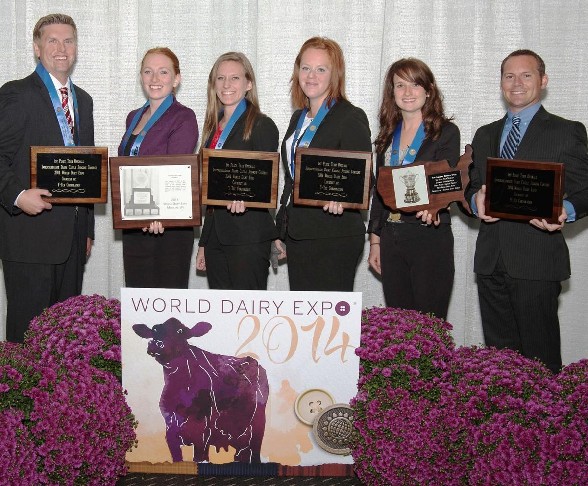 2014 UW-Madison Dairy-Judging Team
