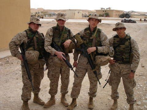 Josh Woodford military