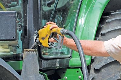 fuel expense for raising corn